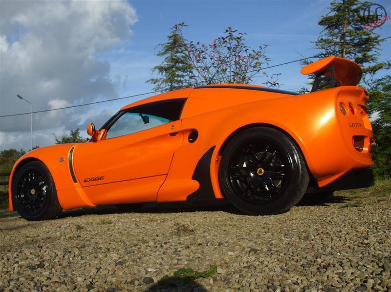 Chrome Orange Lotus
