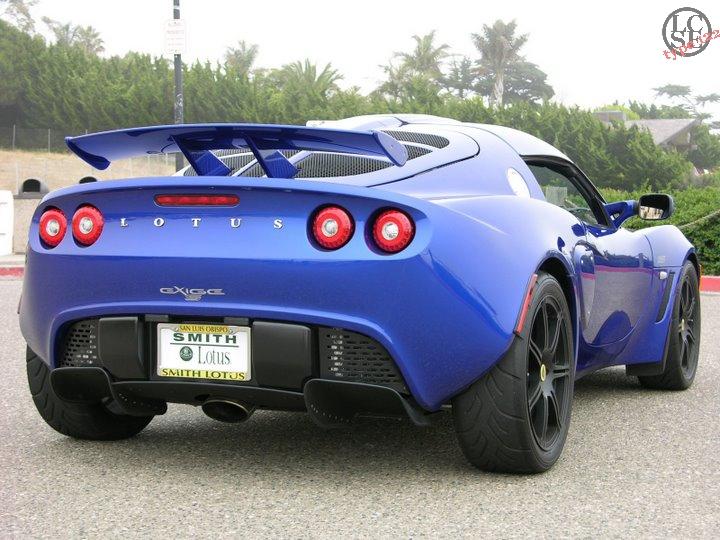 Lotus Exige Persian Blue