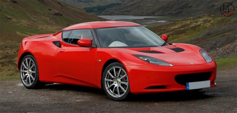 lotus evora ardent red