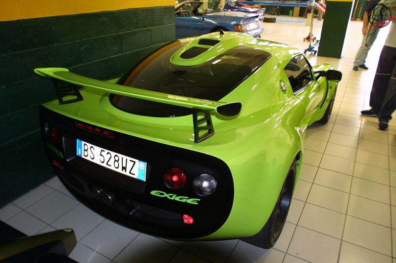 Lotus Exige S1 Scandal Green